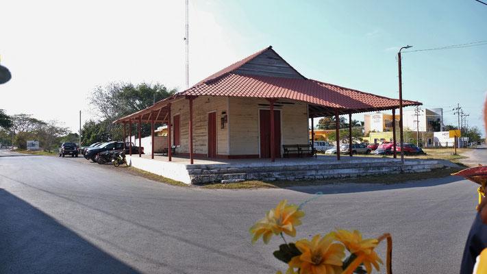 Der alte Bahnhof, nun ohne Nutzen