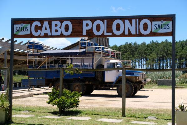 """Cabo Polonio  """" Da oben sitzen möchte ich aber auf keinen Fall"""""""