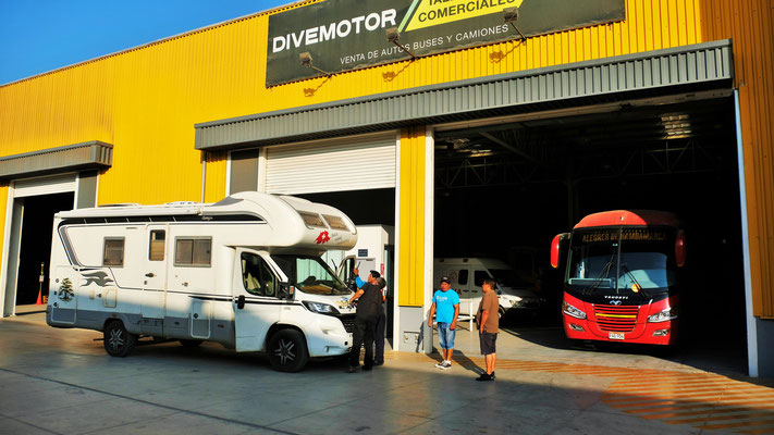 Bei Divemotor in Lambayeque