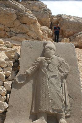 Die riesigen Reliefplatten