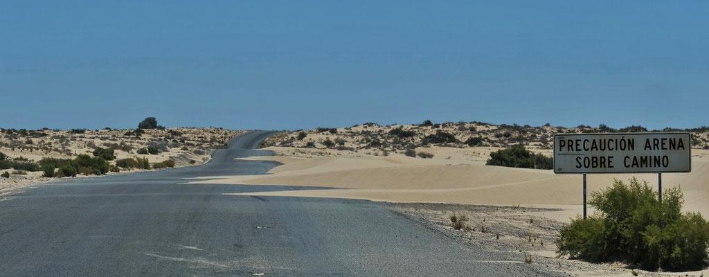 ....viel, viel Sand