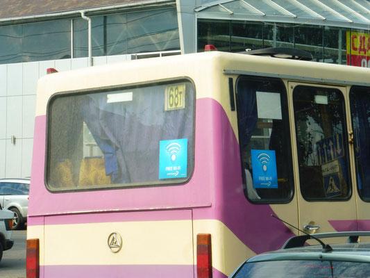 Busse in Odessa