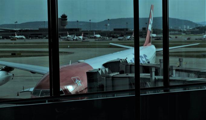 Das Flugi steht bereit