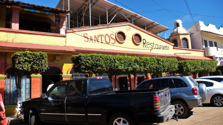 In Jesus Maria im Restaurant Santos.....