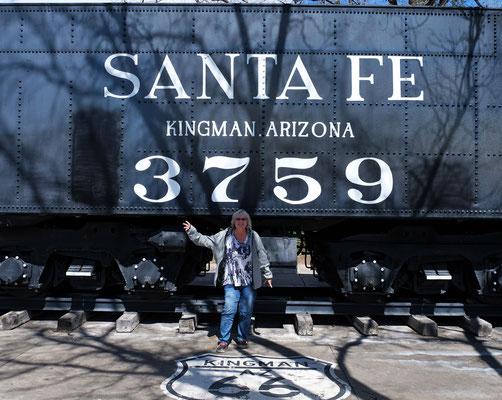 Der Zug von Santa Fe....
