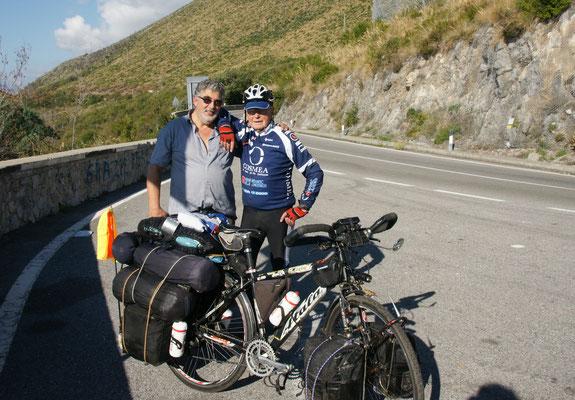 Robert der 88-jährige Fahrradweltenbummler