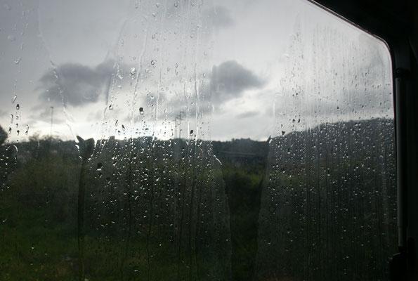 ....... bevor es regnet