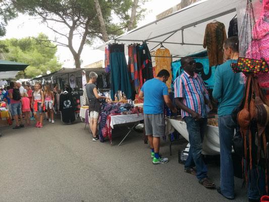 Der Markt von Portocolom ist recht klein