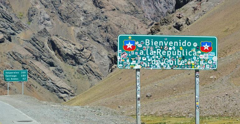 Wieder in Chile und....