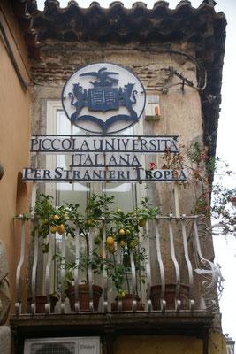 Wohl eine der kleinsten Universitäten