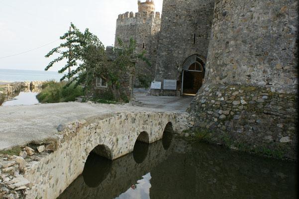 Der Eingangsbereich zur Festung