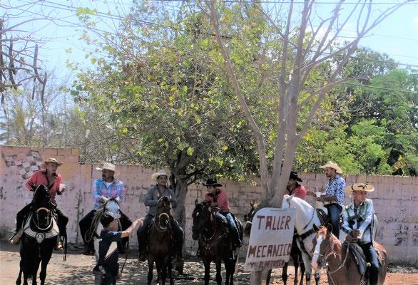 Ein Cowboy Fest