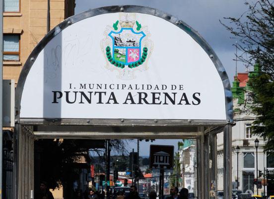Wir sind in Punta Arenas