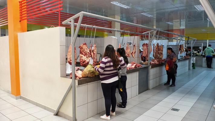 Der Supermoderne Mercado Bolivar.