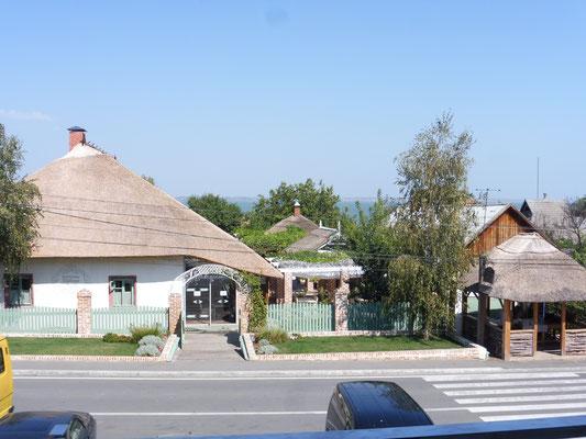 Das Restaurant mit Reetdach
