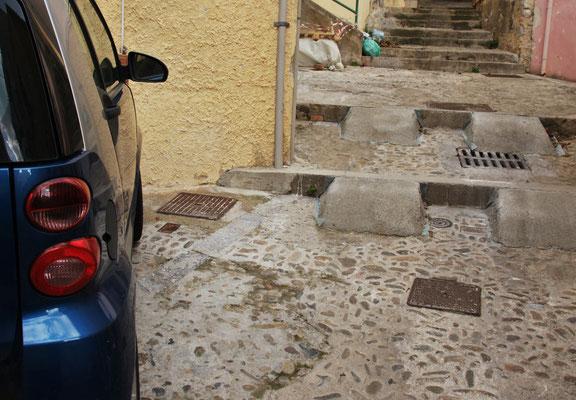 Treppe fahrfähig präpariert