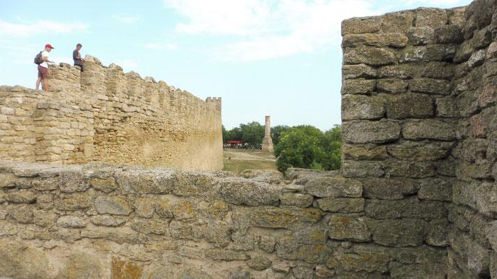 überall wird rumgeturmt in der Festung Akkermann