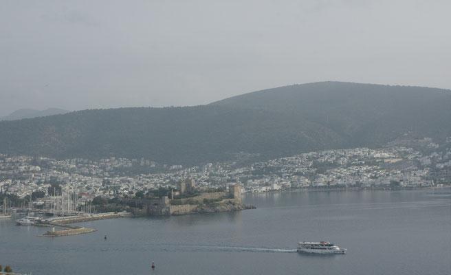 Blick auf Bodrum mit der Burg