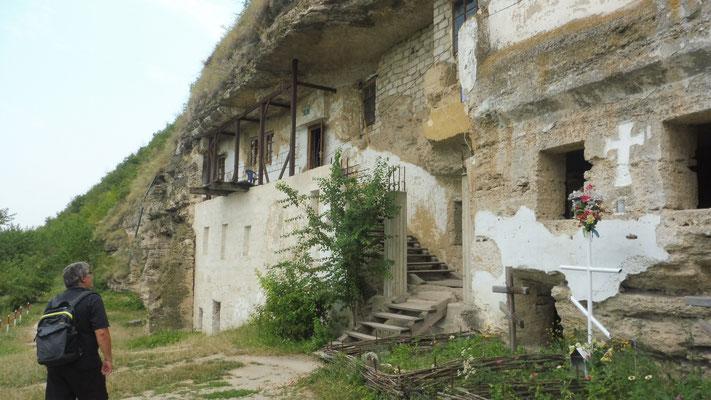 Die Höhlenkloster wurden schon im 11. Jhrd. von Christen bewohnt.