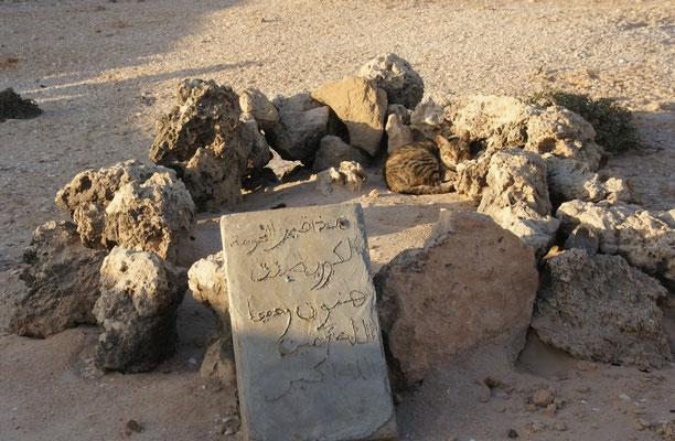 Eines der zwei Gräber der berühmten Sahaouris