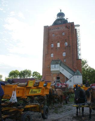 Der Turm auf Neuwerk