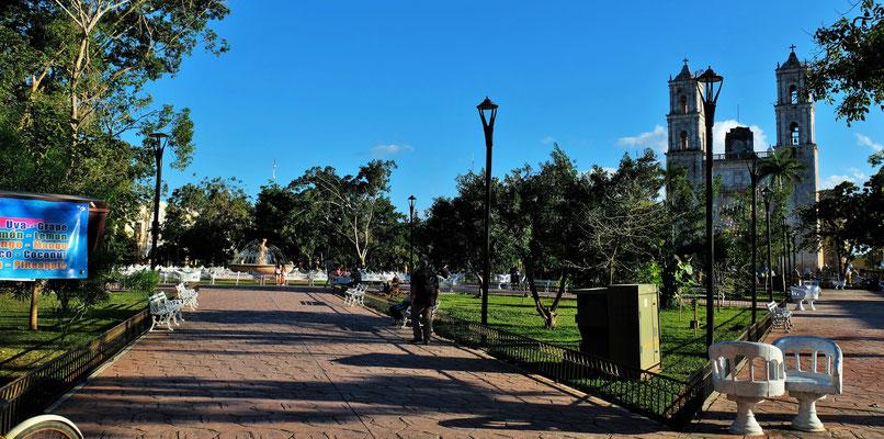 Im Zentrum von Valladolid.....