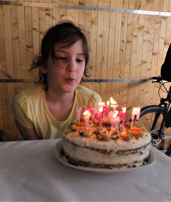 Auch Lara feiert Geburtstag