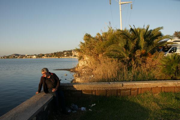 Fusaro am gleichnamigen See. Ist sehr romantisch, wenn.......
