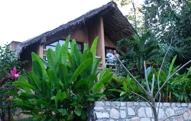 Der zweite Uebernachtungsort in Palenque