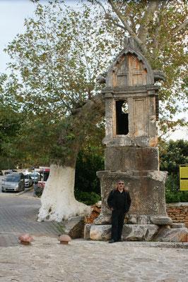 Königsgrab in Kas