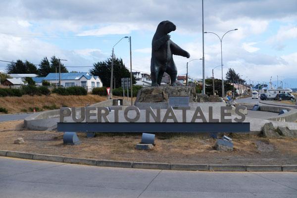 Wir sind in Puerto Natales.