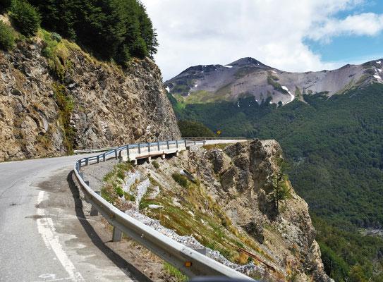 Garibaldipass kurz vor Ushuaia