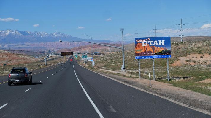 Wir sind wieder in Utah
