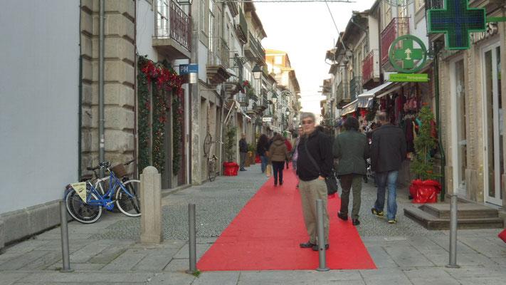 Der rote Teppich ist ausgerollt in Viano do Castelo