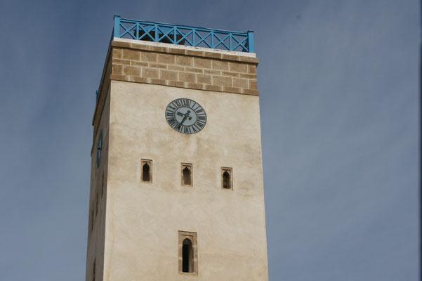In Marokko sehr rar ein  Uhrturm