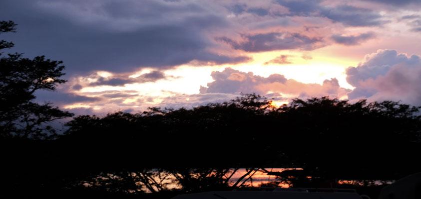 Abendstimmung über der Lagune