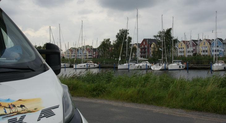Wunderbares Plätzchen auf der Hafenstrasse in Greifswald