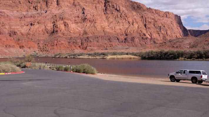 ... am Colorado River......