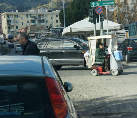Nur schnell raus aus  Messina