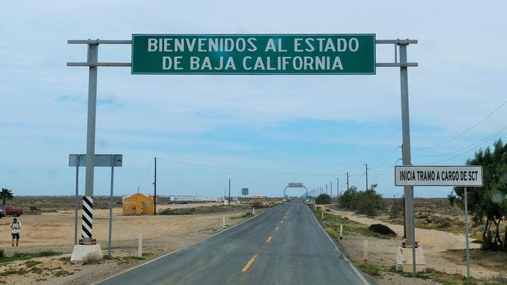 Wir verlassen die südliche Baja California