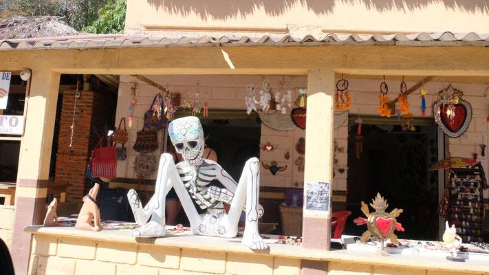 In Mazunte geht es voll touristisch zu