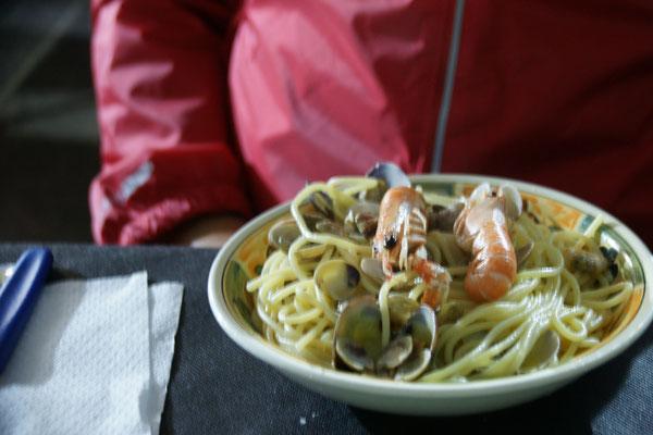 Spaghetti mit........