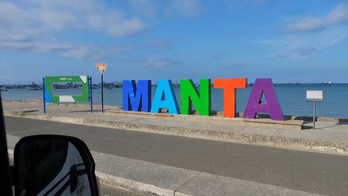 ... in Manta, aber ....