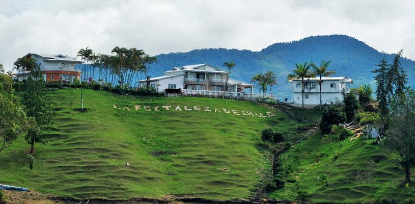 Diese Villa gehört anscheinend einem ehemaligen Gefährten Escobar's