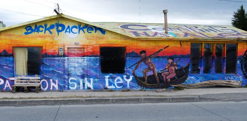 In Puerto Natales....