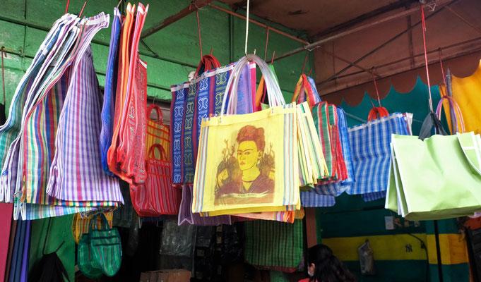 Frida Kahlo ist allgegenwärtig. Dieses Exemplar gehört nun Marianne