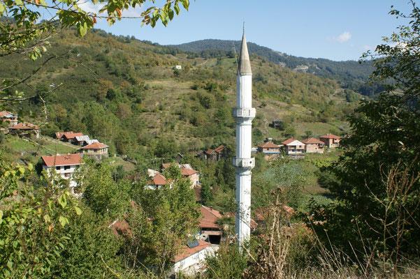 Mengenköyü letztes Dorf in den Bergen