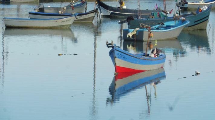 Morgens am Fischerhafen von Asilah