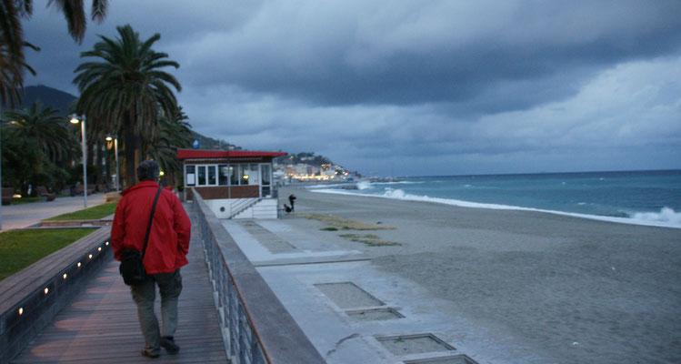 Die Promenade von Varazze