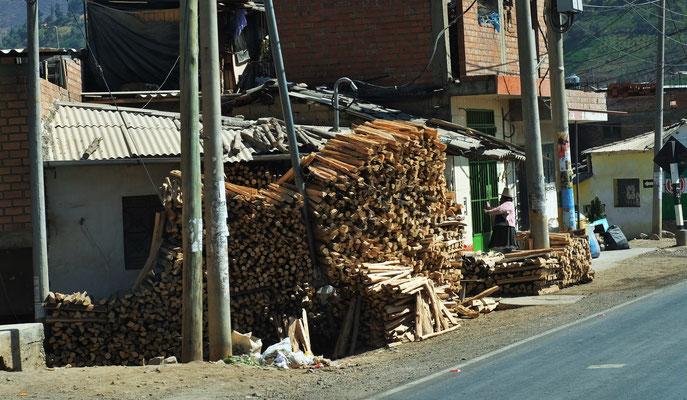 Genügend Holz für den Winter